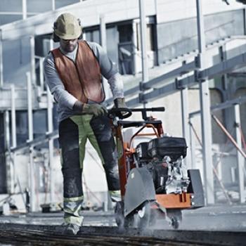 Corte de estrutura de concreto em Campo Limpo